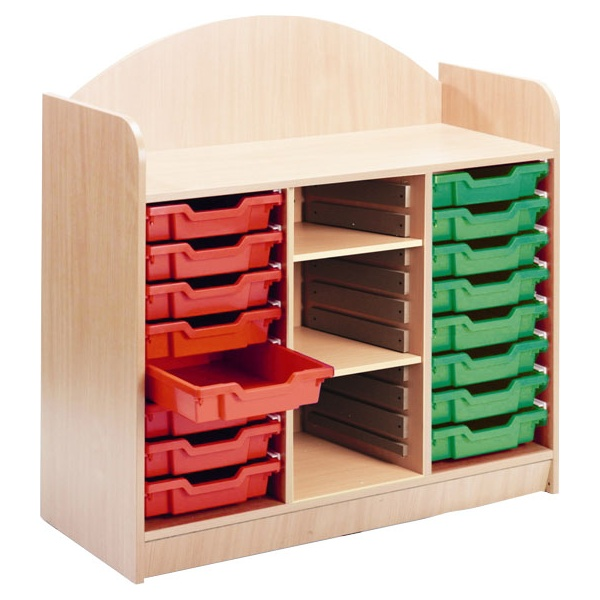 Stretton 16 Shallow Tray Storage Unit
