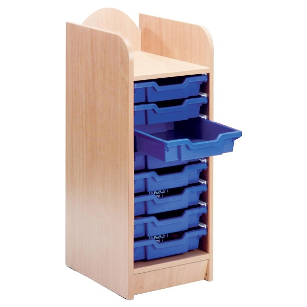 Stretton 8 Shallow Tray Storage Unit