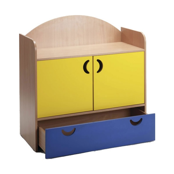 Stretton 2 Door & Drawer Designer Storage Unit