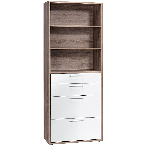 Venture in Harmony Tall Combination Unit WIth Drawers
