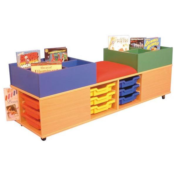 Mobile Kinder, Seat & Storage Activity Centre