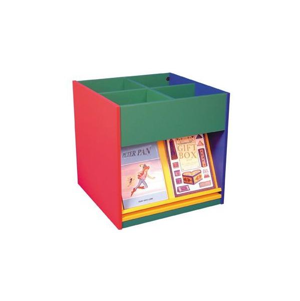 Mobile Kinder Box with Display Shelves