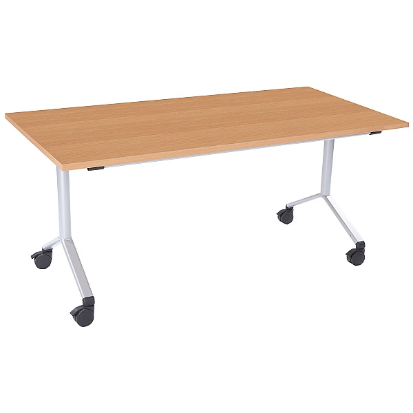 NEXT DAY Rectangular Flip Top Meeting Table