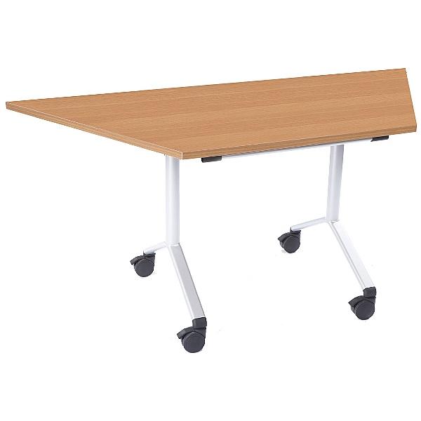 NEXT DAY Trapezoidal Flip Top Meeting Table