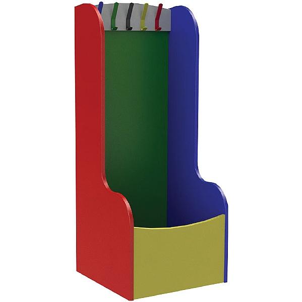 5 Hook Cloakroom & Classroom Troughs
