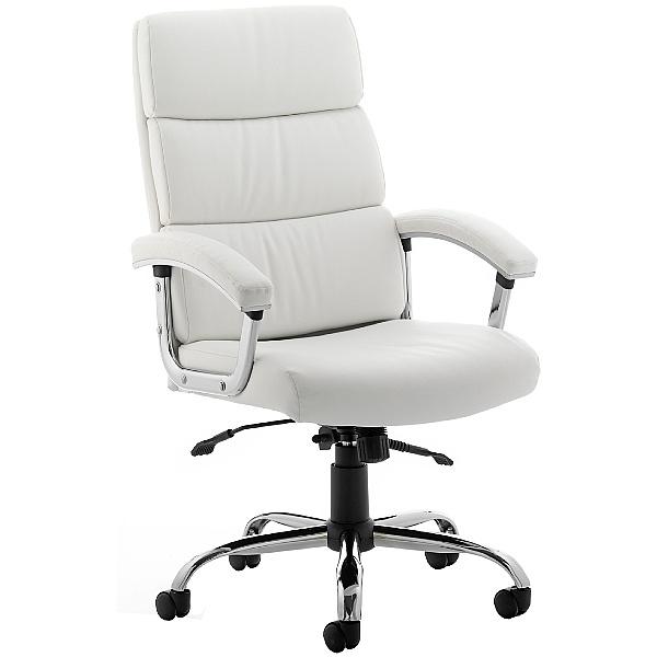 Malo Enviro Leather Executive Chair White