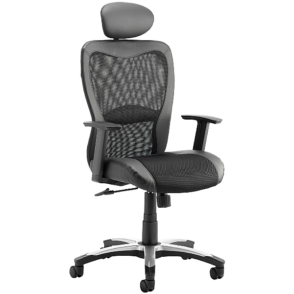 Aerial Mesh Office Chair With Headrest