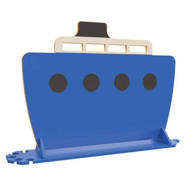 Blue Boat Room Divider