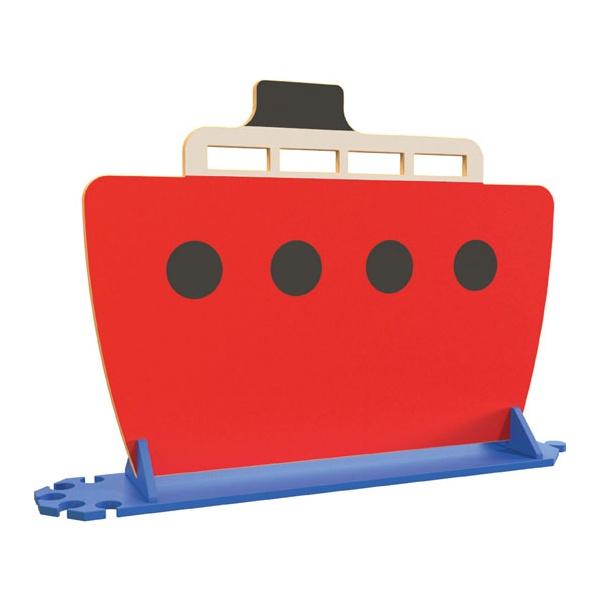Red Boat Room Divider