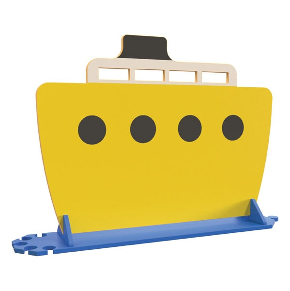 Yellow Boat Room Divider