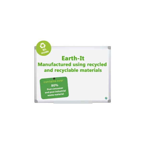 Earth-It Dryerase Board Aluminium Frame