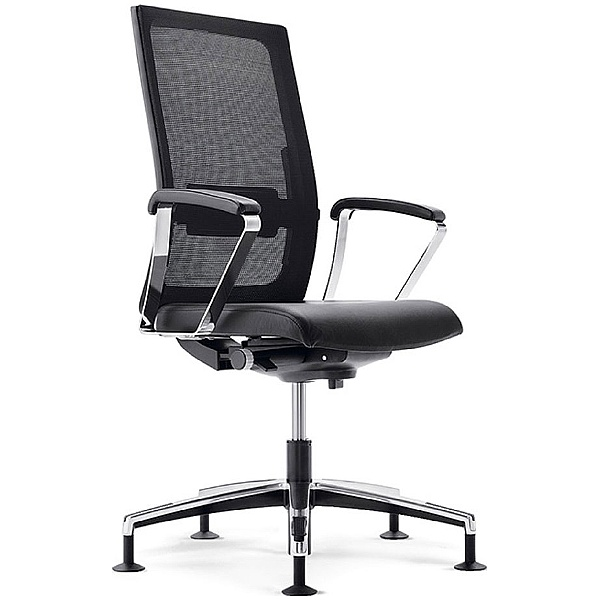 BN Mojito Mesh & Leather Swivel Conference Chair