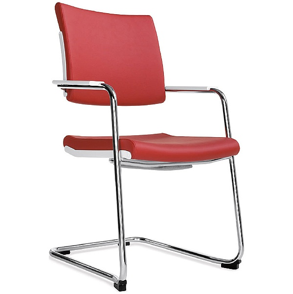 BN Belite Leather High Back Cantilever Conference Chair