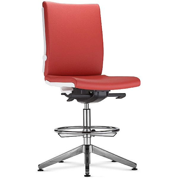 BN Belite Leather Ring Base Swivel Conference Chair