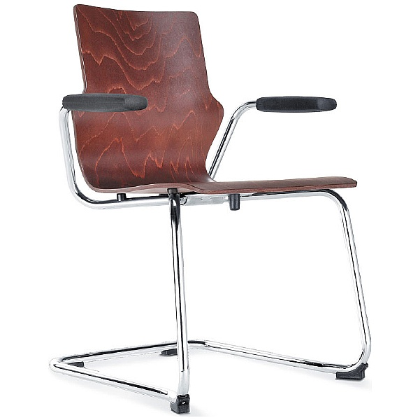 BN Wooden Cantilever Conversa Chair