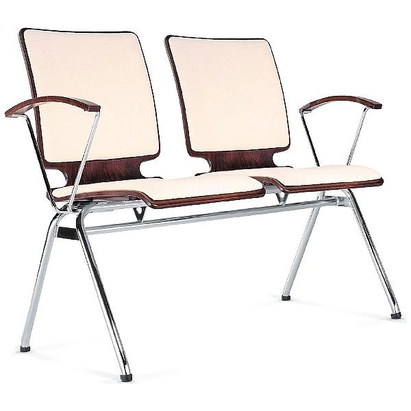BN Axo 2 Seater Upholstered Beam Seating