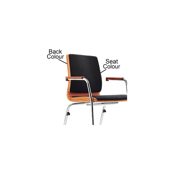 BN Belive Fabric Cantilever Conference Chair