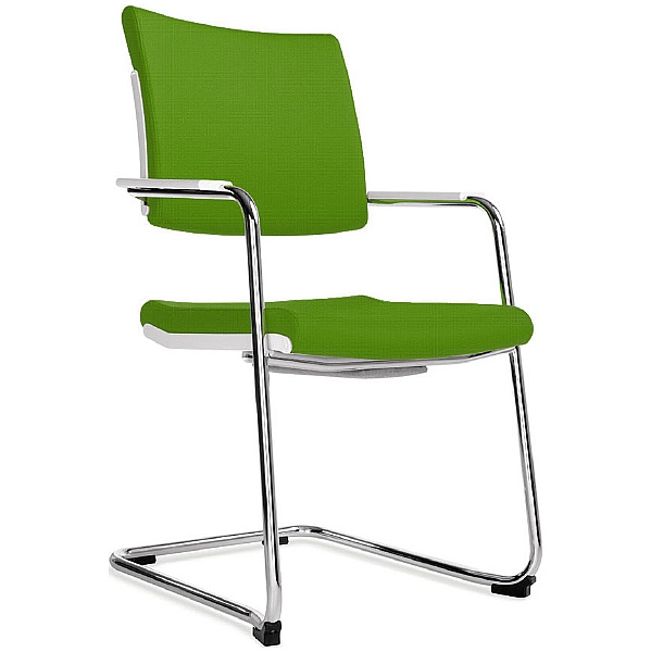 BN Belite Fabric High Back Cantilever Conference Chair