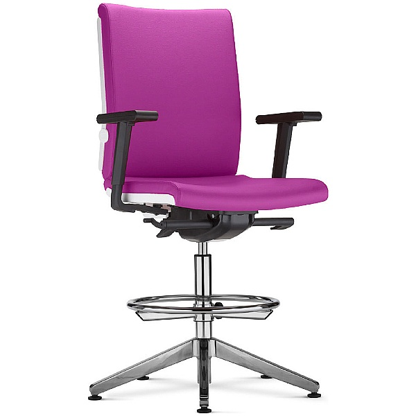 BN Belite Fabric Ring Base Swivel Conference Chair