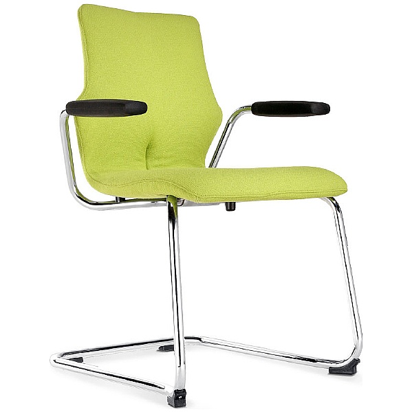 BN Conversa Fully Upholstered Cantilever Chair