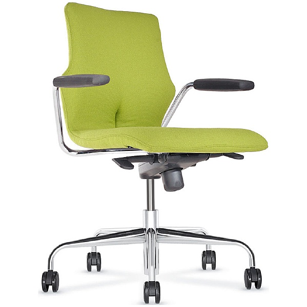 BN Conversa Fully Upholstered Swivel Chair