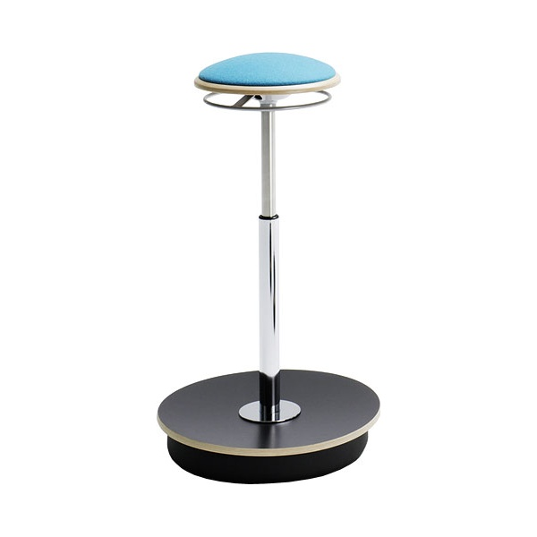 BN Belise Fabric Hocker Bar Stool