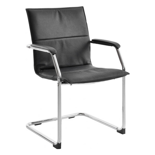 Essen Leather Faced Visitor Chair