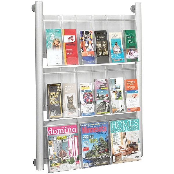 Crest Wall Mounted Leaflet Dispensers