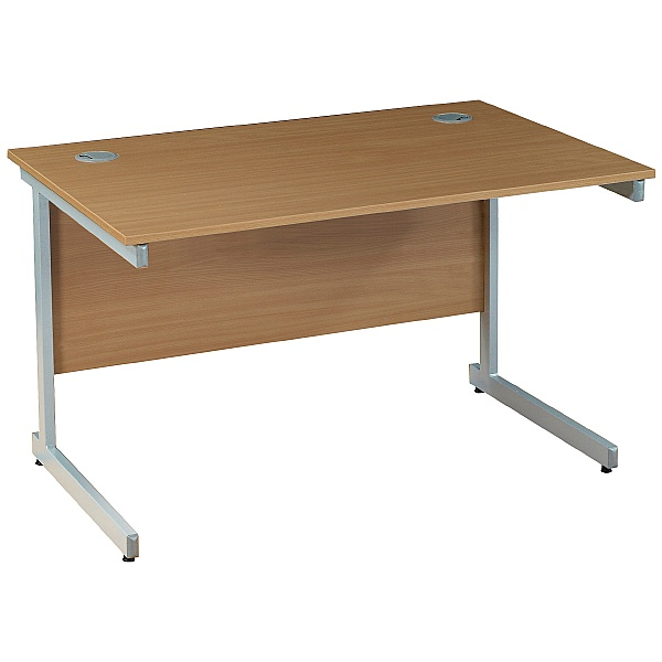 Solar Cantilever Rectangular Desks