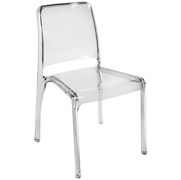 Pure Transparent Cafe Chair Clear
