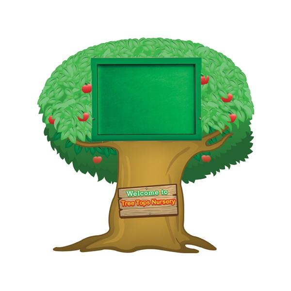 WeatherShield Nursery / Primary Welcome Sign - Tree