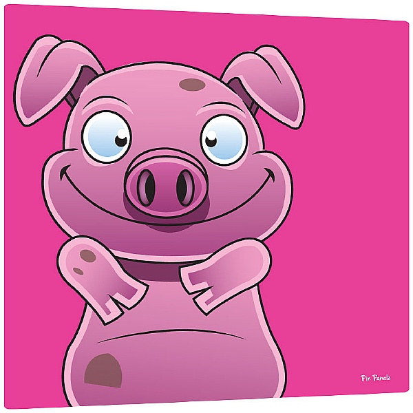Pin Panelz Primary Graphics Alfie Pig Noticeboards