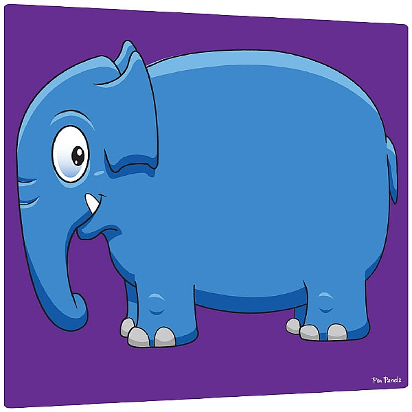 Pin Panelz Primary Graphics Elephant Noticeboards