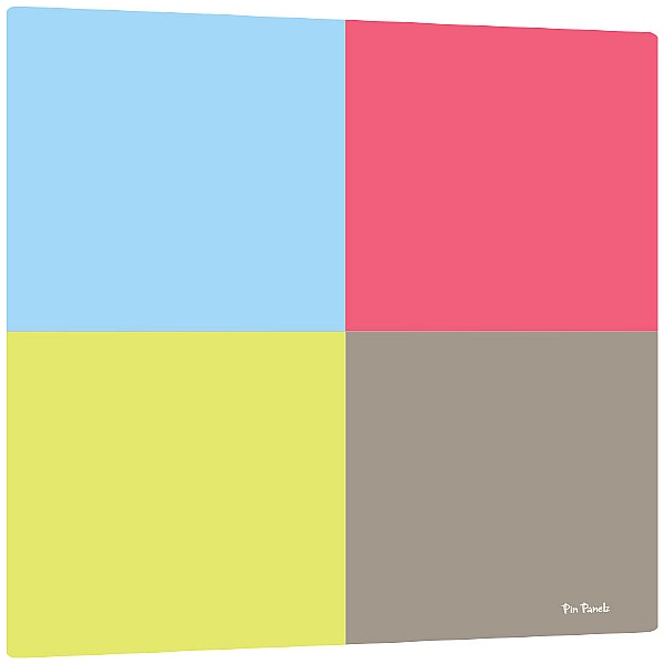 Pin Panelz Squares Noticeboards