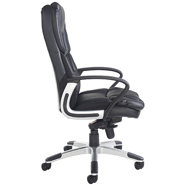 Portella Leather Faced Executive Chair