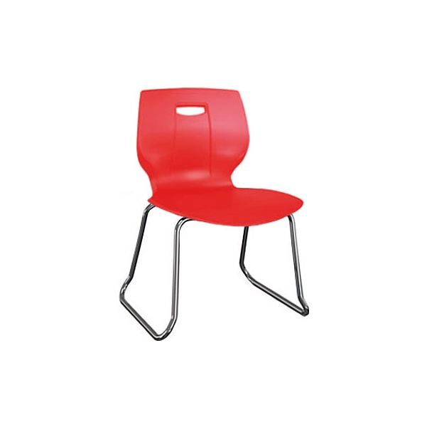 Scholar Premium Skid Base Chair