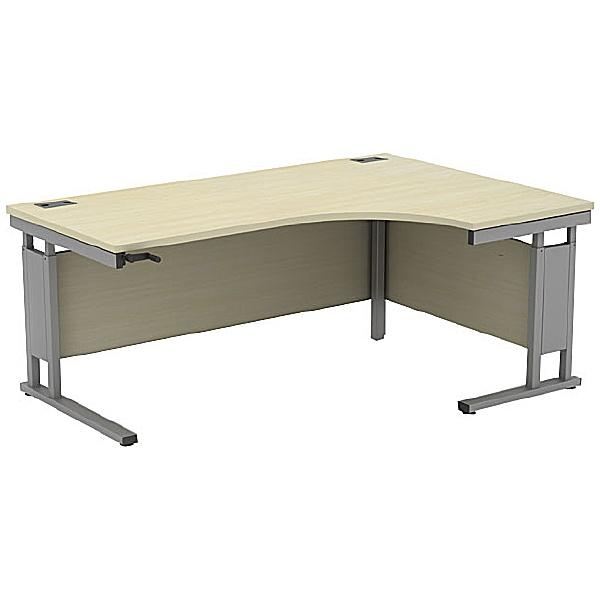 Accolade Height Adjustable Cantilever Ergonomic Desk