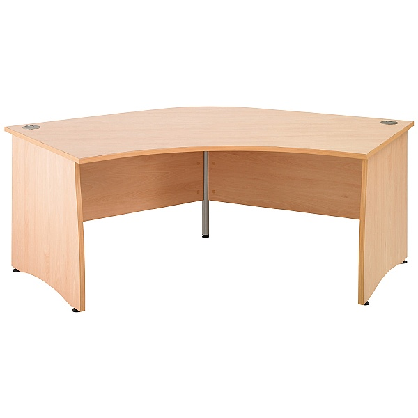 Gravity Contract Delta Panel End Desk