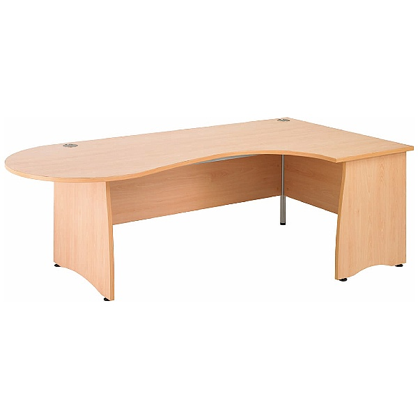 Gravity Contract Ergonomic Conference Panel End Desk