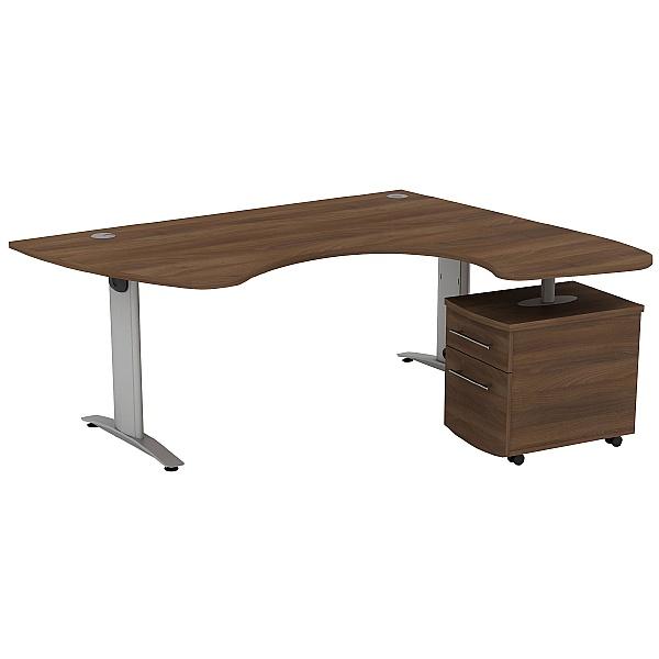 Protocol Ergonomic Combination iBeam Desks