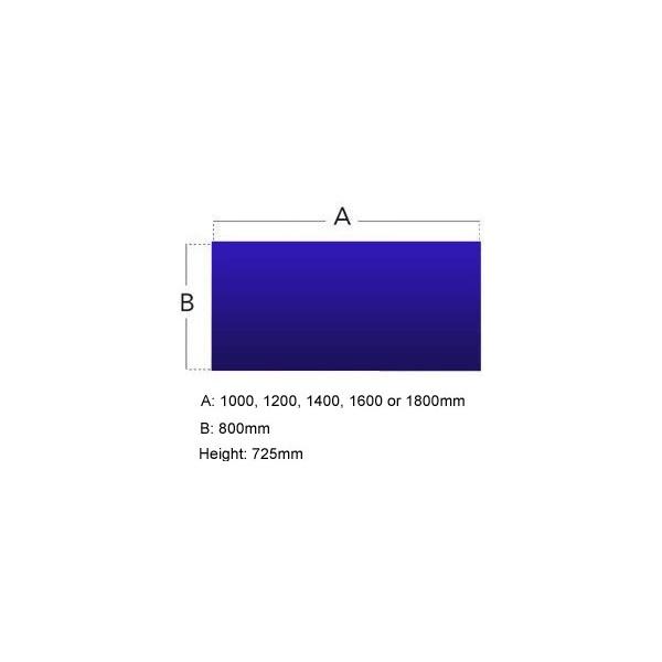 Protocol Rectangular iBeam Desk Extension