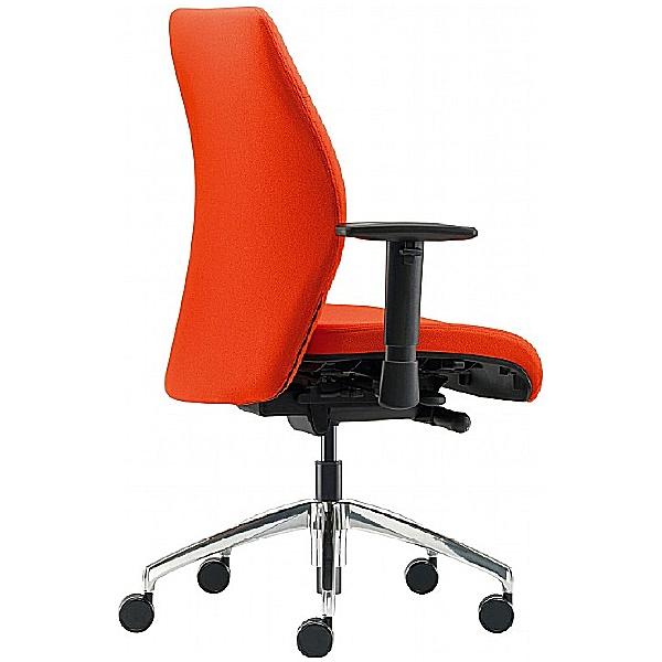 Pledge Tas Medium Back Custom Task Chair With Arms