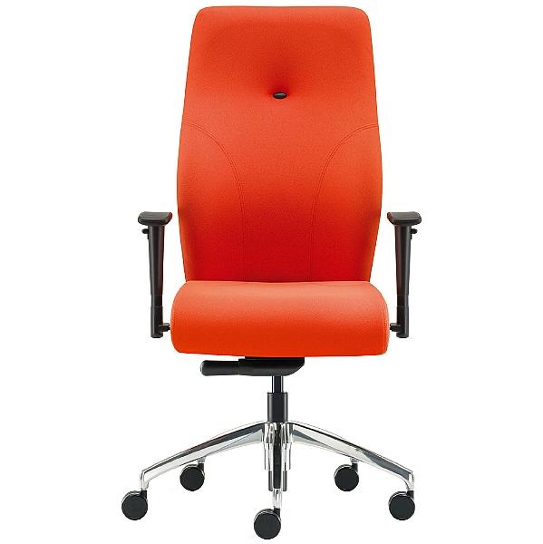 Pledge Tas High Back Custom Task Chair With Arms