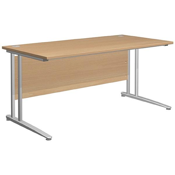 Gravity Standard Cantilever Rectangular Desk