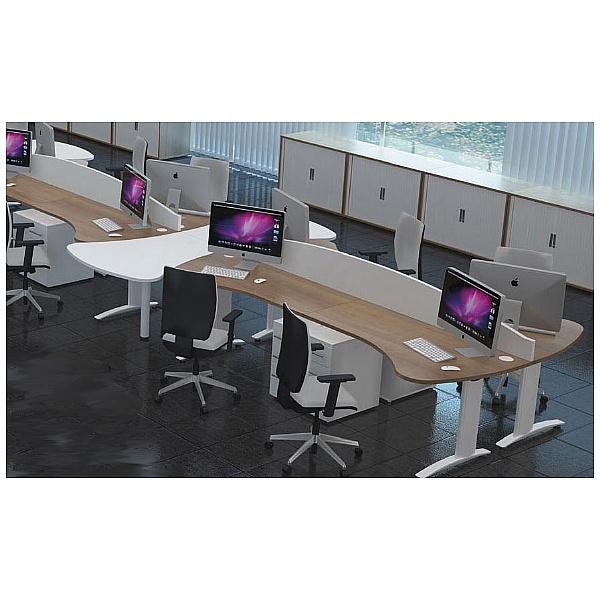 Protocol Deluxe Rectangular Desktop Screens