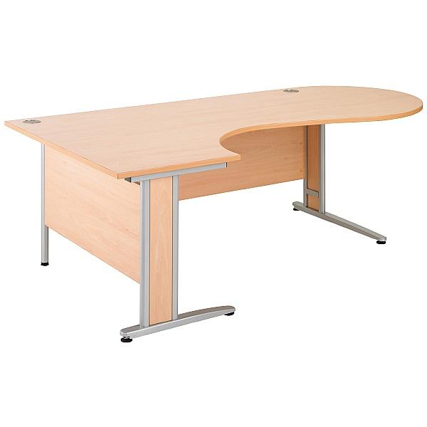 Gravity Deluxe Ergonomic Conference Cantilever Desk