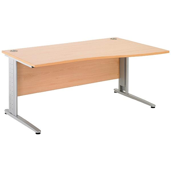 Gravity Plus Wave Cantilever Desk