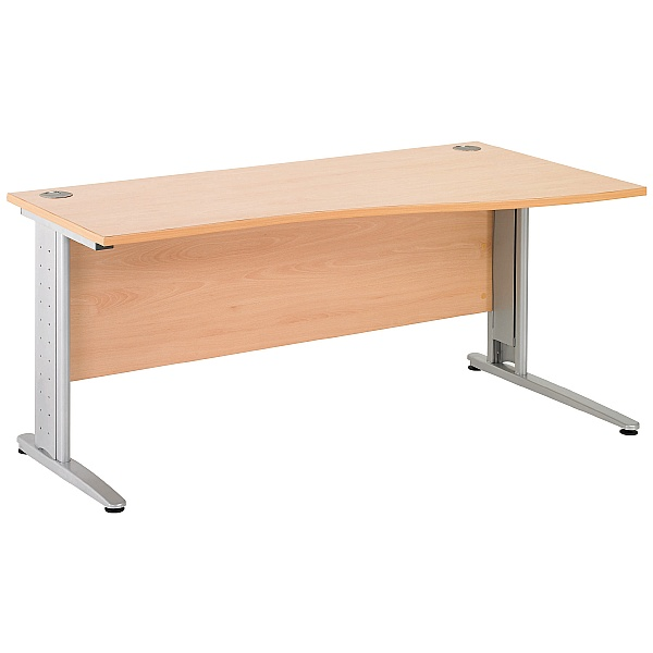 Gravity Plus Shallow Wave Cantilever Desk