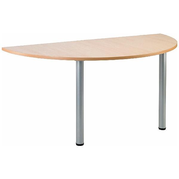 Gravity Arc Meeting Table Round Legs
