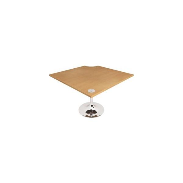 Gravity Quad Meeting Table Trumpet Leg